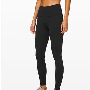 Lululemon leggings. Black.